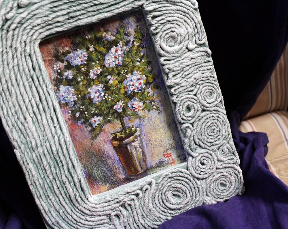 Декупаж рамки для фото своими руками наташа фохтина