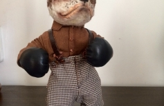 Как сделать боксерские перчатки и обувь для куклы \