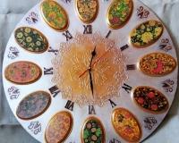 часы хохлома