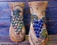 Итальянская лоза - новый взгляд на декор бутылок и ваз