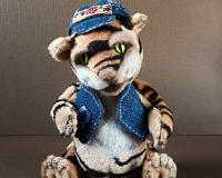 Тедди тигрёнок Тимоха.