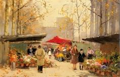 Романтика Парижа в живописи мастеров прошлого Э.Кортес