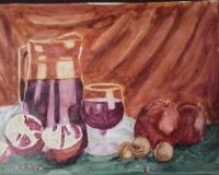 Гранаты и сок