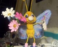 Моя бабочка-красавица