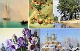"Онлайн-курс ""Основы масляной живописи"" с Александром Кугелем"