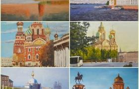 Комплект из 6 мастер-классов: пишем Санкт-Петербург