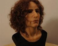 Скульптурная лепка кукольной мужской головы из полимерной глины