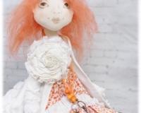 Шьем будуарную подвижную куклу в стиле Бохо