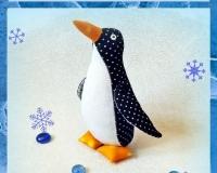 Пингвин в стиле Тильда