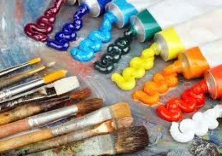 Как выдавливать масляные краски на палитру . Видео совет от художницы Светланы И-Новиковой