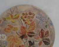Круглое пано картина