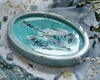«Воспоминания о лете». Имитация керамики