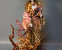 Азиатская принцесса и дракончик