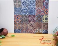Декупаж и роспись керамической плитки