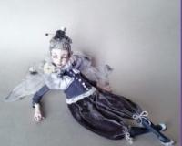 Кукла Болтушка. Бабочка-капустница Сережа