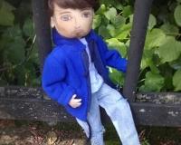 Портретная кукла-мальчик Петя