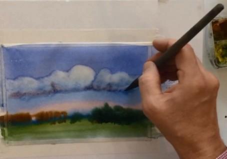 Рисуем небо за 3 минуты