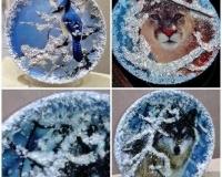 Тарелки различные