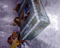 Голубая накидка