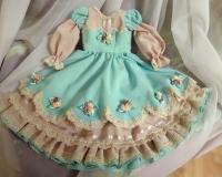 Платье для куклы 60 см