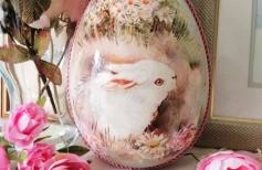 Кролики -  не только ценный мех, но и… прекрасный пасхальный мотив
