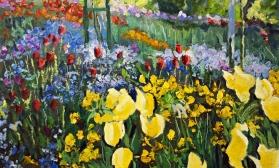 Буйство цветов в саду К.Моне