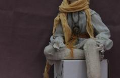 Комбинированная шарнирная кукла ч.3
