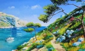 Яркий пейзаж