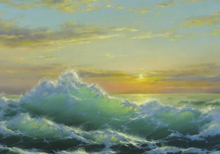Приглашение на 1 Урок Онлайн - курса  по живописи маслом «Искусство пейзажа в деталях»