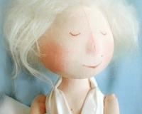 Текстильная кукла - Мэрилин Монро