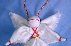 Как  выбрать идеальный  подарок на Новый год.  Кукла оберег «Рождественский Ангел». Пошаговая  инструкция