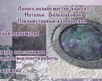 Перламутровый калейдоскоп