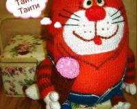 Кот, который не хочет на Таити