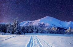 Зимний пейзаж \