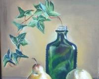 натюрморт с грушами, холст 24x30 на подрамнике,масло, МК Светланы Ивановой-Новиковой