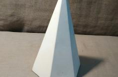 Академический рисунок шестигранной пирамиды и конуса. Урок 5