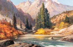 """""""Горная река"""""""