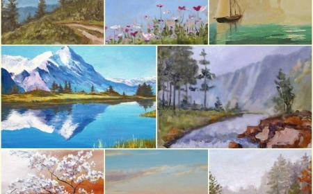 Авторский курс по живописи  маслом \