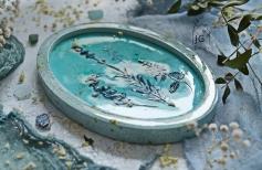 «Воспоминания о лете». Имтитация керамики