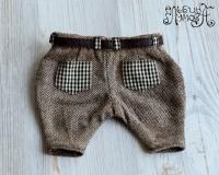 Детализированные брюки с ремнем для кукол, тедди и других игрушек