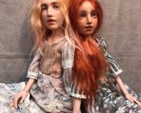 Большая будуарная кукла