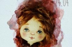Живое кукольное лицо в деталях. Рисуем объемные губы и нос