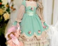 Будуарная кукла. Детский образ