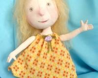 Текстильная кукла - по картине Е. Гапчинской \