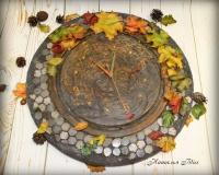 Часы «Осень»