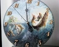 Часы Клёвое место