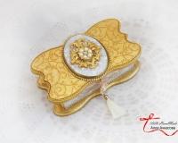 Купюрница свадебная «Золотая бабочка»