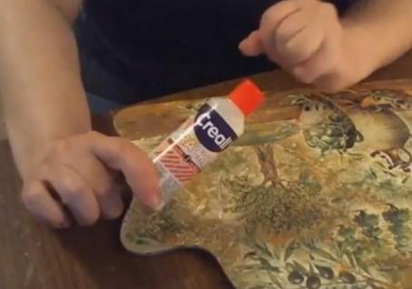 Использование 2х шагового кракелюра Creall Crackle для имитации фрески