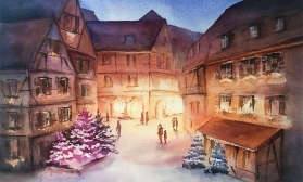 Рождественская улочка