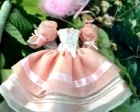 Платье для куклы 27 см